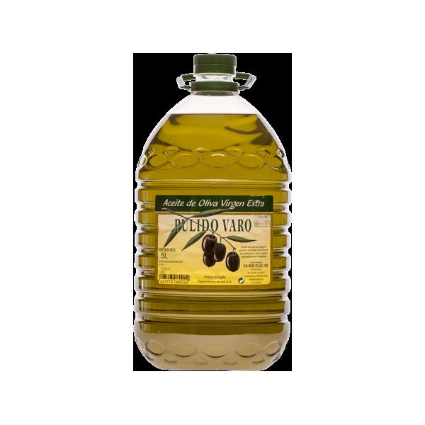 Garrafa de 5 litros de aceite virgen extra